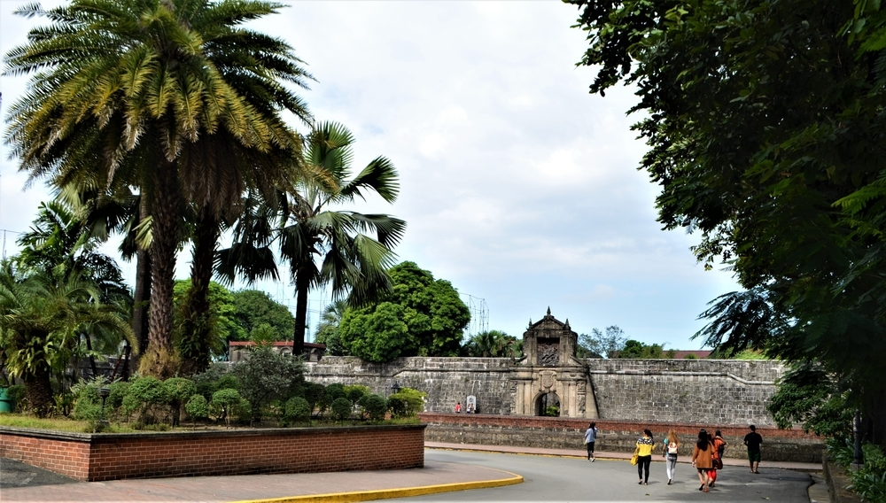 The wall around the original settlement was raised by Spanish colonists — Shutterstock