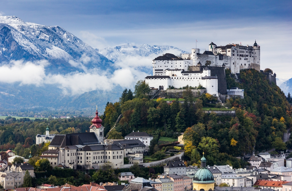 Mozart's birthplace —Salzburg in Austria — was selected the number-one city for 2020 — Shutterstock best in travel Lonely Planet names best destinations for 2020