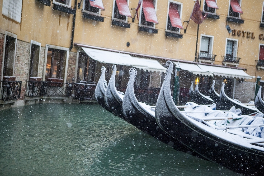 In winter, Venice becomes darkly poetic — Shutterstock Venice: the most beautiful stopover you'll ever have