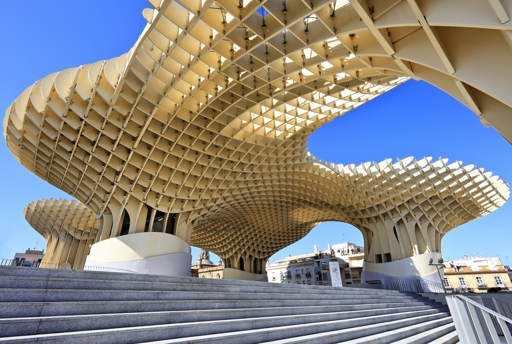 Resembling giant mushrooms, the construction is popularly known as Incarnation's mushrooms — Fulcanelli / Shutterstock