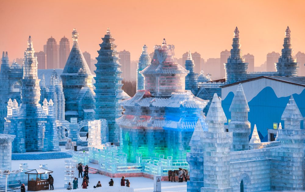 Harbin hosts the biggest annual ice and snow festival in the world — kikujungboy / Shutterstock 6 destinations to travel in January