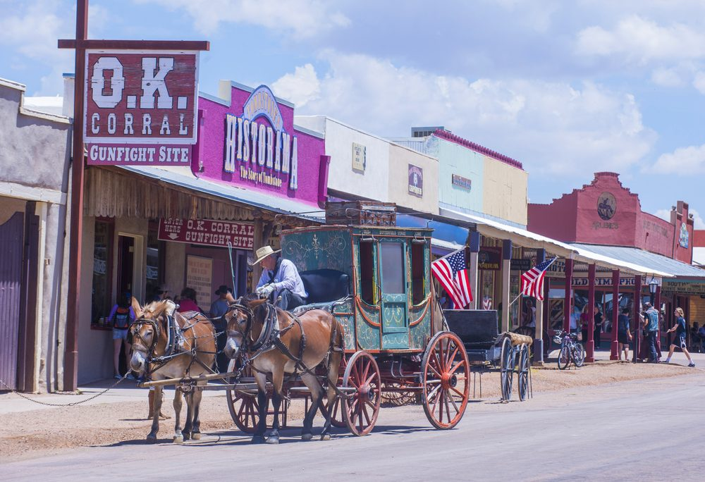In 1961, Tombstone in Arizona received the National Historic Landmark District status for its best-preserved specimens of the frontier — Kobby Dagan / Shutterstock 6 destinations to travel in January