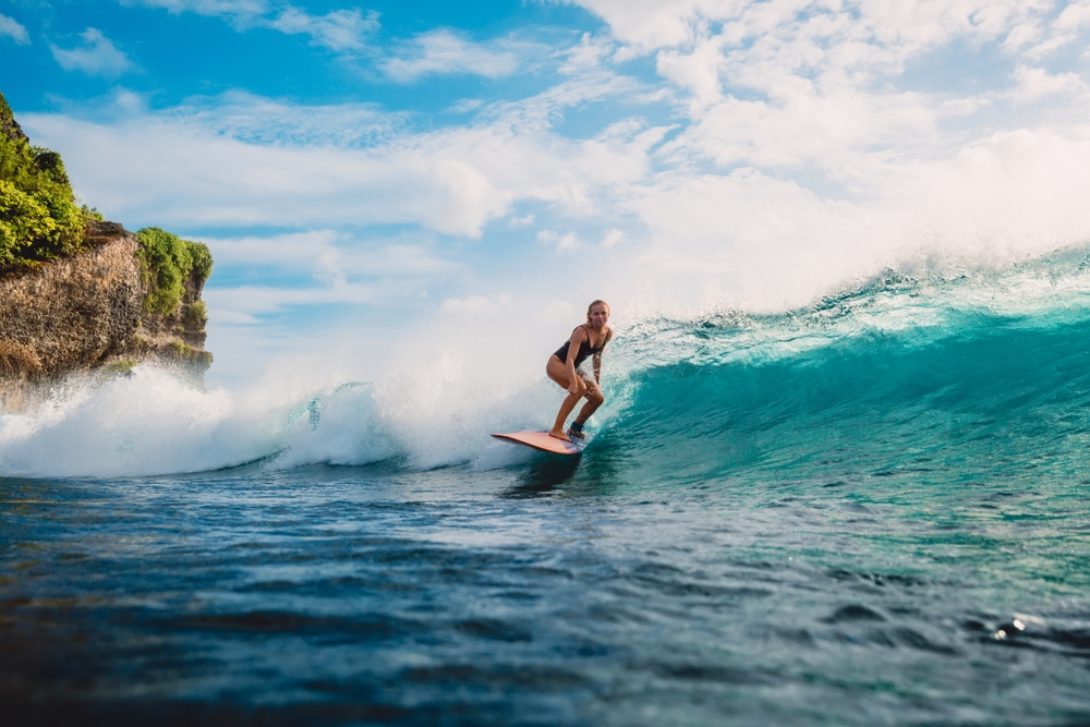 Surfing was reportedly first observed by Europeans on a ship in Tahiti — Shutterstock