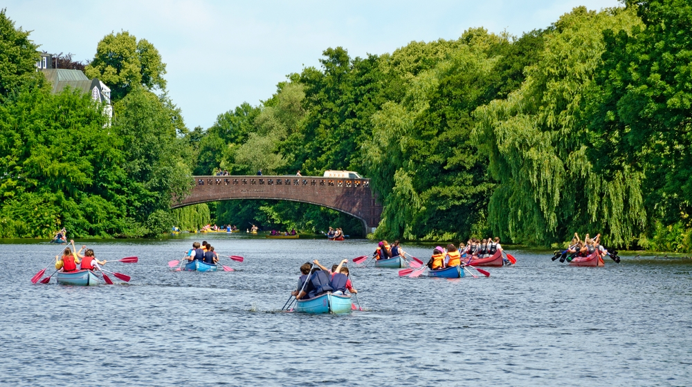 Rent a canoe, kayak or paddle-board and spend a couple of days winding through the city's canals and waterways — lbrix / Shutterstock