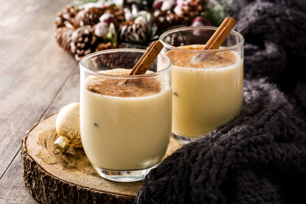 The history of eggnog goes all the way to medieval Britain — Shutterstock 8 peculiar Christmas traditions from around the world