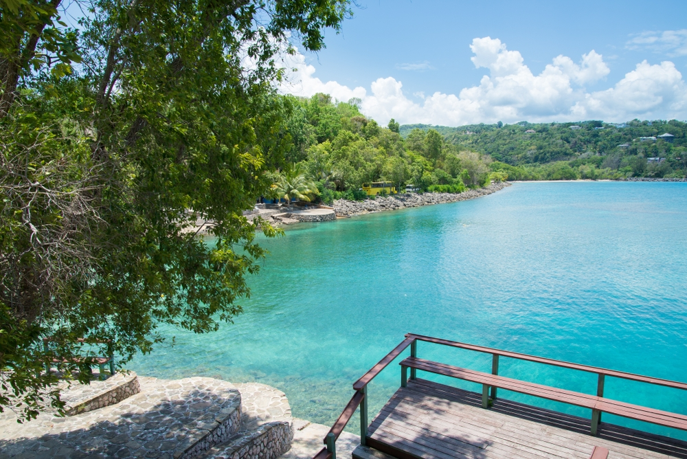 Being a filming location of a Bond movie, Jamaica even prides itself with James Bond beach — Shutterstock
