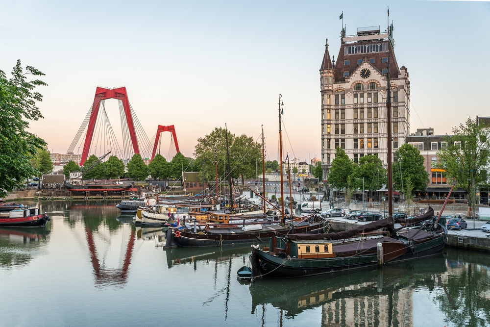 Rotterdam is also the venue for 2020's Eurovision — Shutterstock These are the top 20 destinations to see in 2020