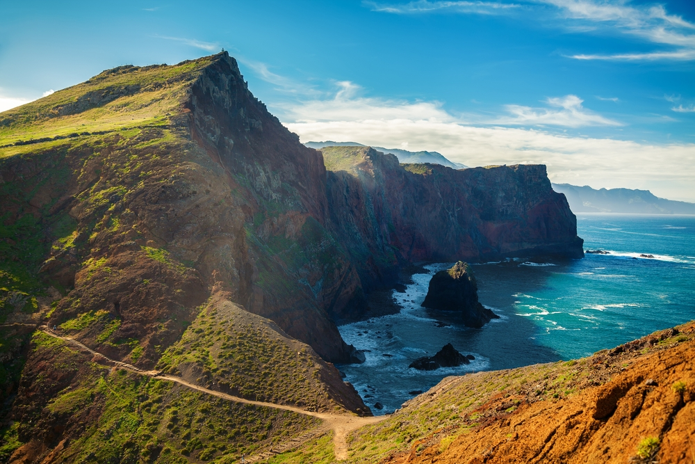 Madeira is a great place for hiking, exploring the caves, surfing, canyoning, and other vigorous activities — Shutterstock 6 best destination to travel in March 2020