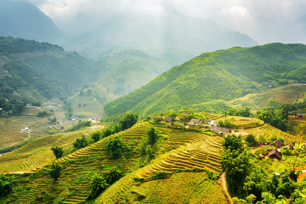 The area is famous for its terraced rice fields that stretch for miles in every direction — Shutterstock These are the top 20 destinations to see in 2020