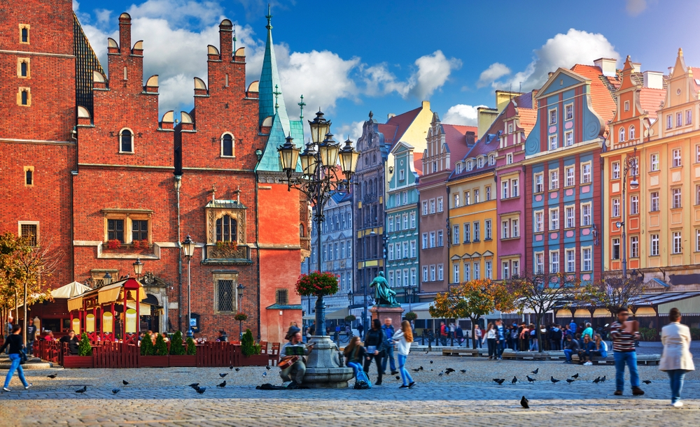 Wroclaw is a city of mansions, grand squares, baroque palaces and beautiful churches — Shutterstock