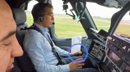 Airbus carries out first pilotless take-off