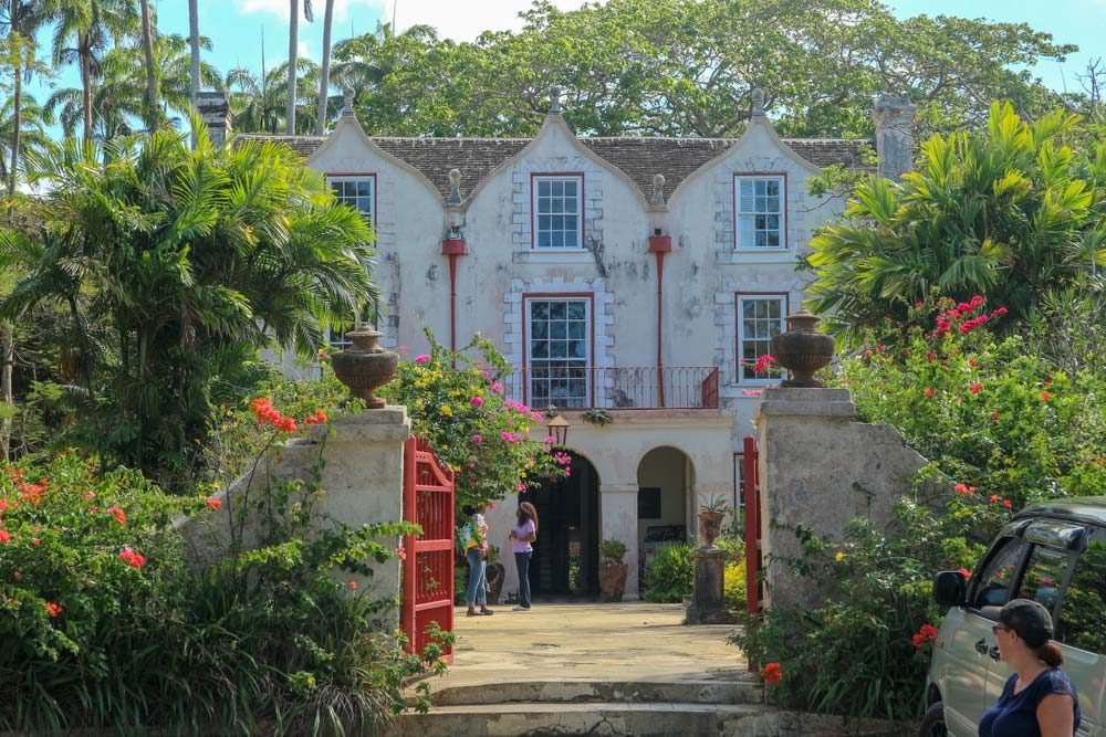 It's easy to come across fragments of the country's colonial past, such as the 17th-century St. Nicholas Abbey plantation house — Andy Glenn / Shutterstock