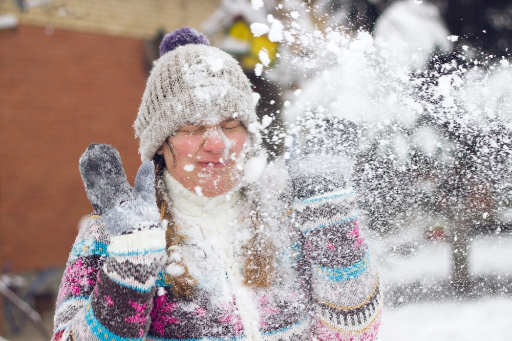 With the official number of 7,681 participants, Saskatoon holds the record of the biggest snowball fight — Shuttertock Feeling cold? Warm up with these chilling facts about snow