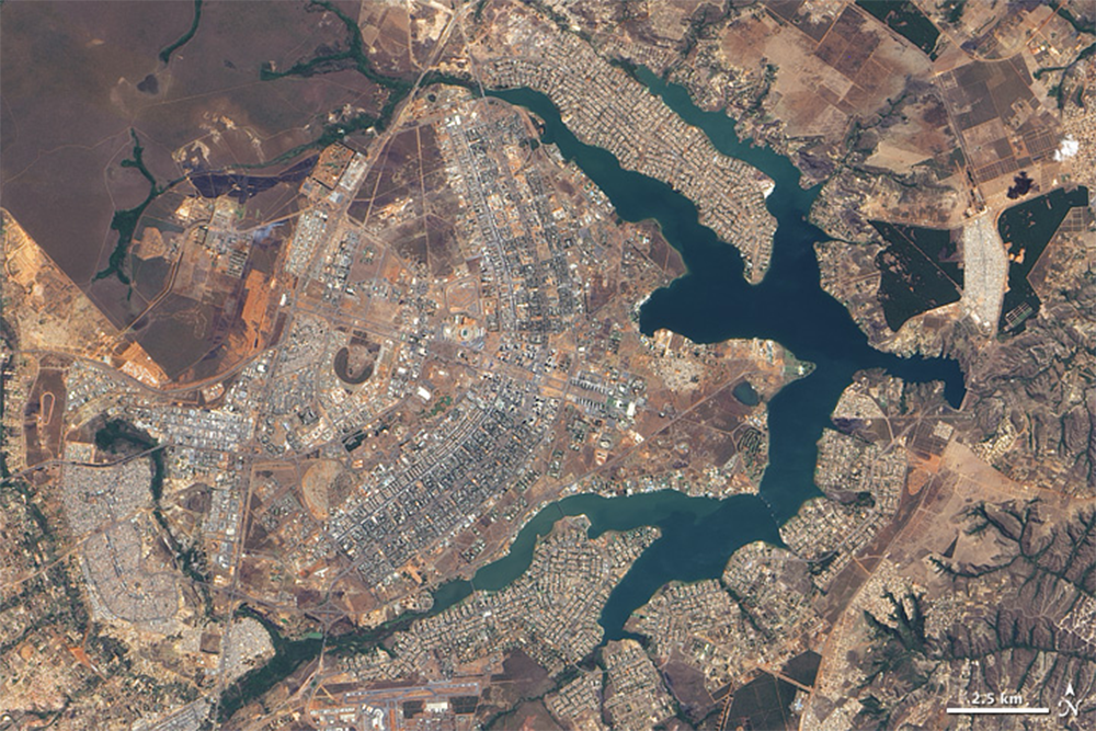 The capital of Brazil was built in just about 3.5 years